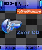 Zver CD theme screenshot