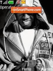 50 Cent 14 theme screenshot