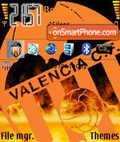 Valencia Cf 02 theme screenshot