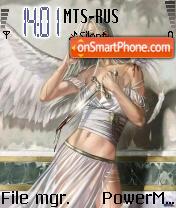 The Fallen Angel theme screenshot