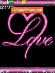 Love You theme screenshot
