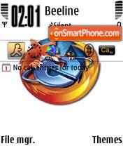 Firefox Fight theme screenshot