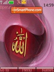 2 Allah 2 theme screenshot