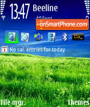 Nature v1 240x320 tema screenshot