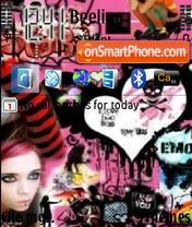 Emo Punk 01 theme screenshot