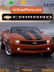 Chevrolet Camaro 01 theme screenshot