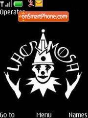 Lacrimosa 01 theme screenshot