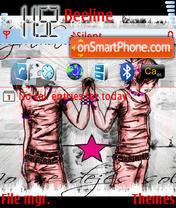 Emo Shoes theme screenshot