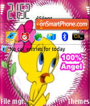 Angel 100% theme screenshot