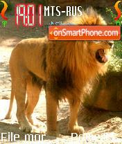 Lion 10 theme screenshot