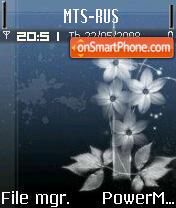 Flowers 06 theme screenshot