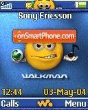 Emoticons Walkman es el tema de pantalla