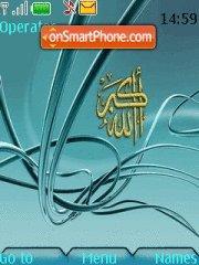 Allaho Akbar theme screenshot