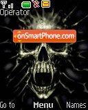 Skull Black es el tema de pantalla