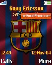 Barcelona FC theme screenshot