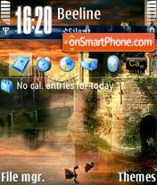 Zamok 01 theme screenshot