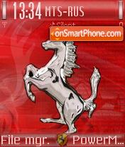Ferrari 616 es el tema de pantalla