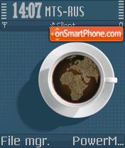 Coffee OS8 es el tema de pantalla