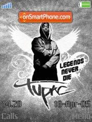Tupac Never Die es el tema de pantalla