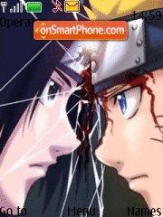 Sasuke Naruto es el tema de pantalla
