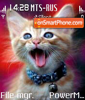 Cat 10 theme screenshot