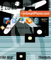 Silhouette 01 es el tema de pantalla