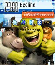Shrek 08 es el tema de pantalla