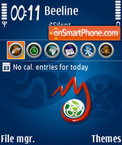 Euro 2008 04 theme screenshot