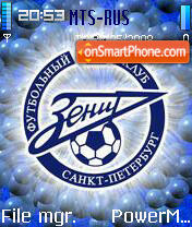 FC Zenit 01 theme screenshot
