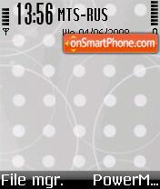 Theme Nokia 6260 theme screenshot
