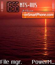 Sunset 3 es el tema de pantalla