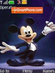 Mickey Magic es el tema de pantalla