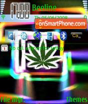 Neon Leaf theme screenshot