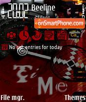 Time 240 yI theme screenshot