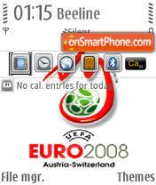 Euro 2008 V2 QVGA es el tema de pantalla