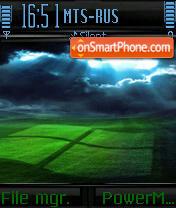 Vista Plain theme screenshot