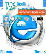 Internet theme screenshot