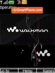 Black walkman es el tema de pantalla