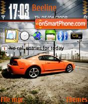 Mustang 09 es el tema de pantalla