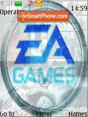 EAGamesCollection es el tema de pantalla