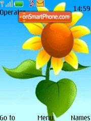 Sunflower Girasole theme screenshot