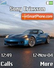 Corvette Zr1 tema screenshot