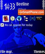 DJBlue es el tema de pantalla