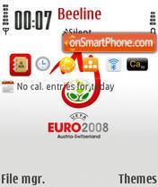 Euro2008 es el tema de pantalla