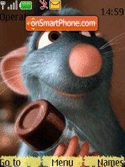 Ratatooee es el tema de pantalla