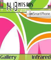 Colorful theme screenshot