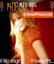 Hilary Duff es el tema de pantalla
