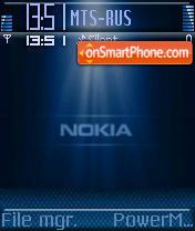 Nokia Light 02 theme screenshot