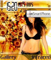 Brooke Burke theme screenshot