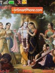 Krishna theme screenshot